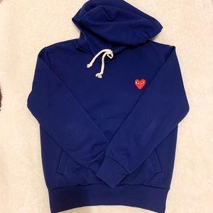 Authentic Blue CDG hoodie !